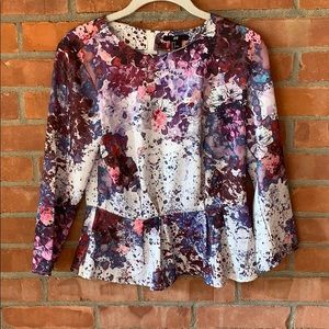 Super Cute H&M Peplum Top, Size US4